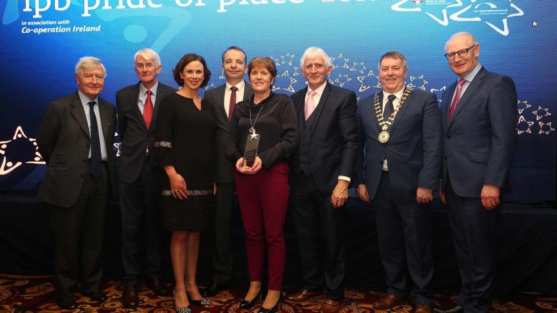 Attymass village won Pride of Place in December 2017
