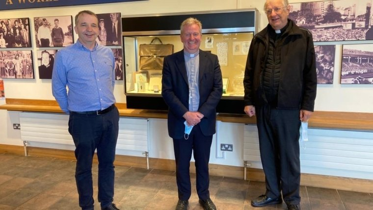 We were delighted to welcome Bishop Paul Dempsey to the Centre today