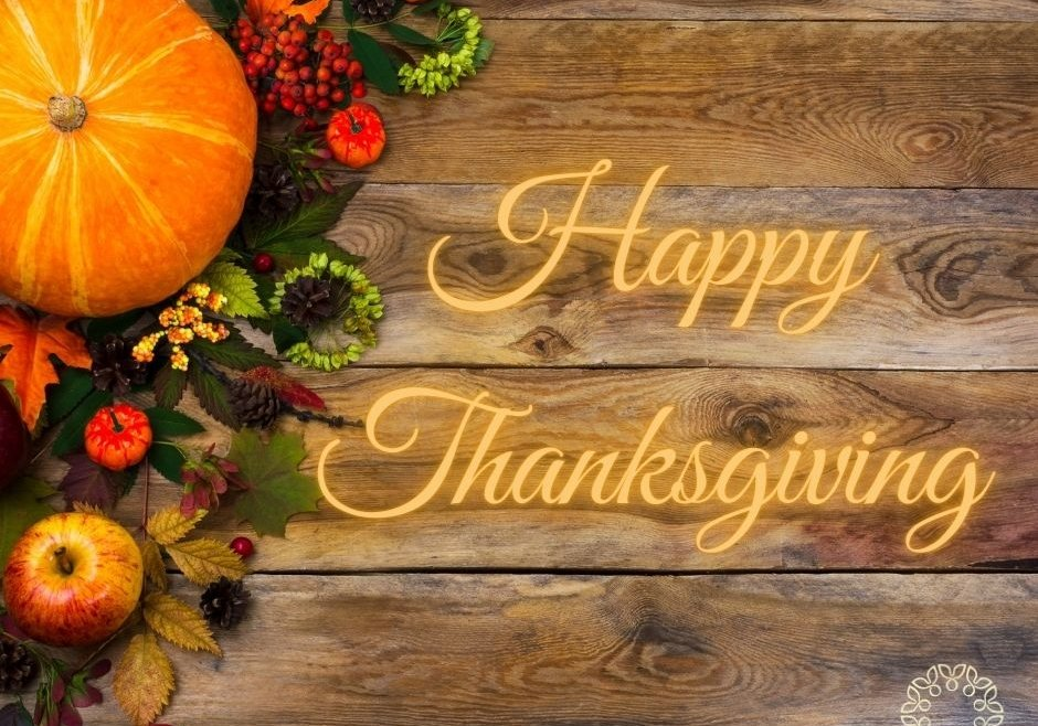Happy Thanksgiving from all at the Father Peyton Centre.